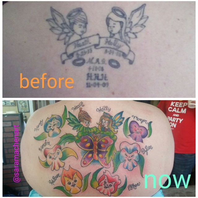 Color fixup add-on by Chico Lou's Fine Tattoos in Athens GA