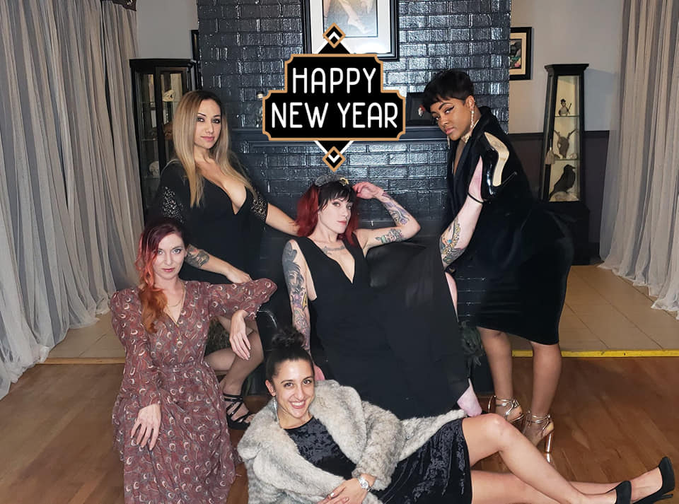 Happy New Year from Chico Lou's Fine Tattoos 1580 Prince Avenue in Athens GA