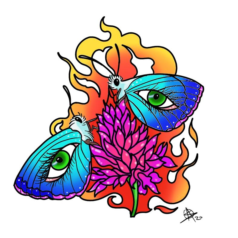 Flames by Sara M Fogle