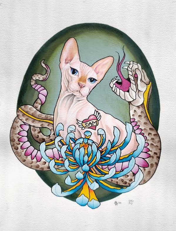 Nine Lives: Lilith by Sara M Fogle and Darya Kalantari