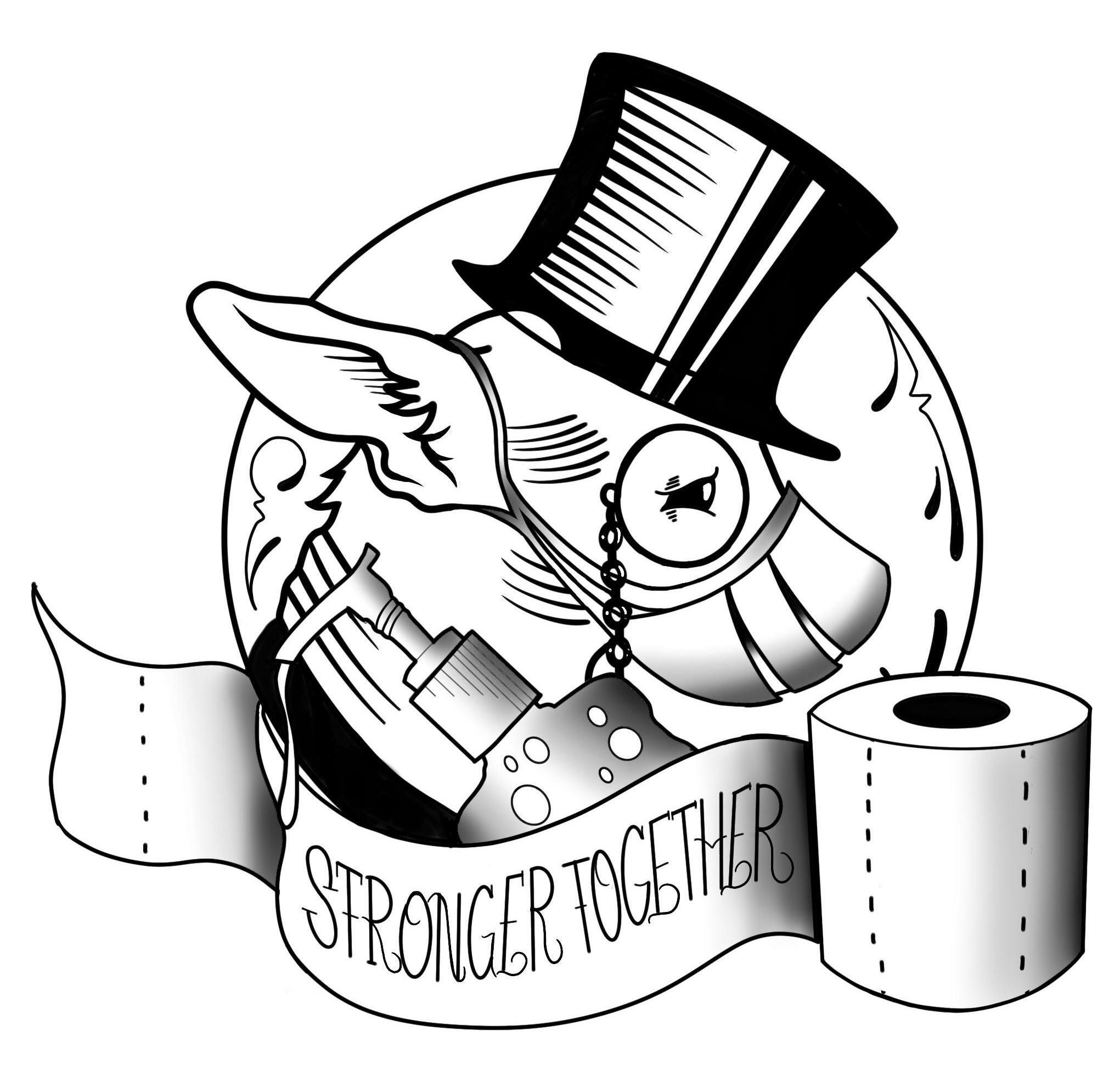 Chico Lou's Fine Tattoos COVID-19 policy logo