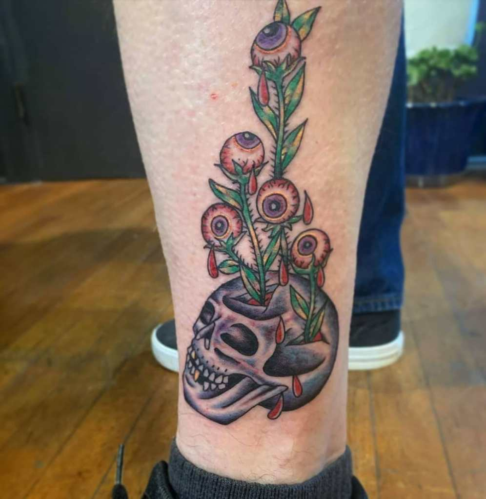 Traditional by Chico Lou's Fine Tattoos studio in Athens Georgia GA. Artist - Jess Clark